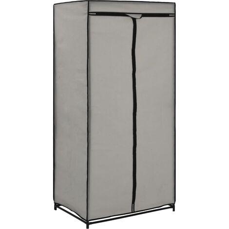 Wardrobe Grey 75x50x160 cm