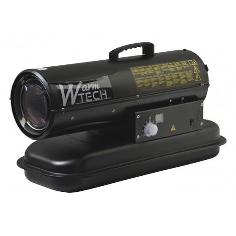 Warm Tech - Chauffage d'atelier (canon à chaleur Diesel) 20 KW 595 m³/H - CAC20KW