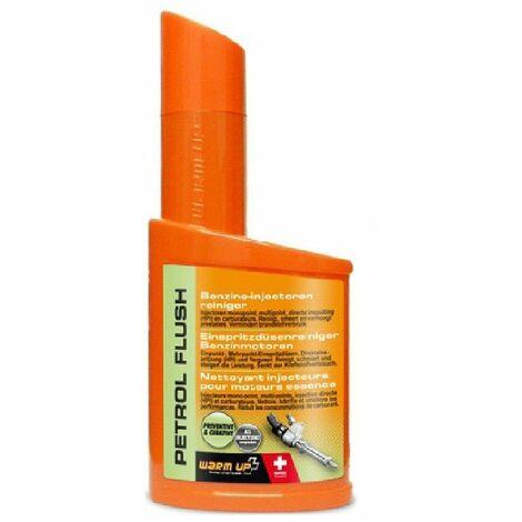 WARM UP PETROL FLUSH nettoyant injecteurs essence préventif
