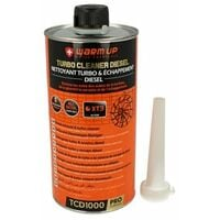 WARM UP Turbo Cleaner Diesel TCD1000 Pulitore Turbo Diesel e Scarico Post Combustione 1000ml