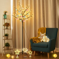 Warm White LED Lights Christmas Xmas Cherry Blossom Tree Indoor Or Outdoor Décor 180CM