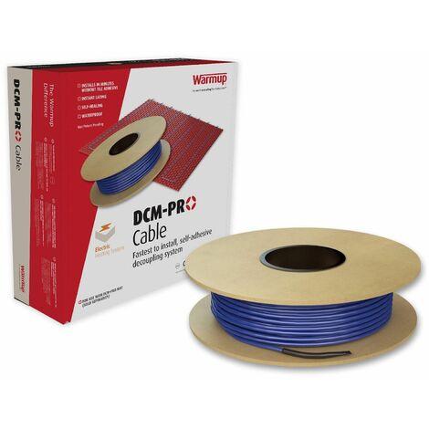 Warmup Electric Underfloor Heating Mat DCM Pro 15 Metre Square Red DCMM15