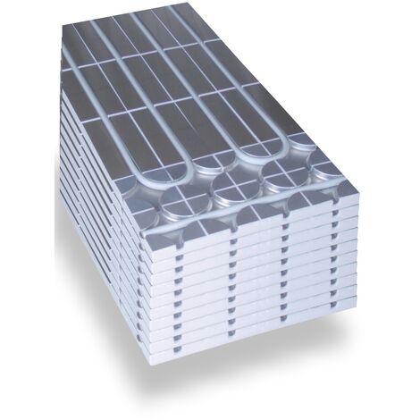 Warmwasser Fußbodenheizung HoWaTech DRY Systemplatte 30mm EPS: 5.00m²