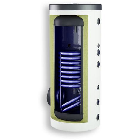 Warmwasserspeicher Stahl-emailliert mit 1 oder 2 Wärmetauscher 120-500 Liter inkl. Tauchhülse