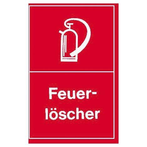 Warnschild 250x150mm Feuerlöscher