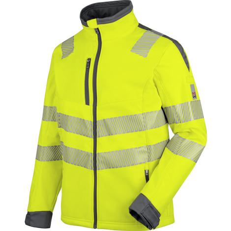 Warnschutz Softshelljacke Klasse 3 Neon