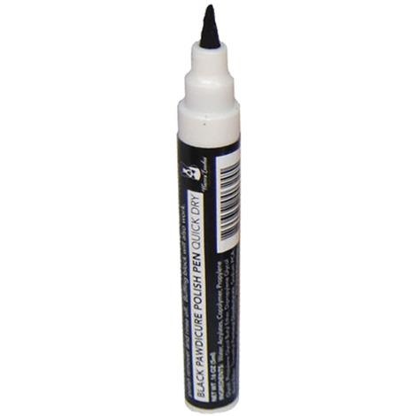 Warren London Pawdicure Polish Pen Black- Not For Use On Cats