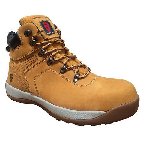 Warrior Mens Nubuck Hiker Boots