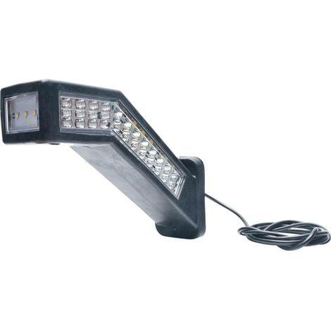 WAS W168.10.1 1444 L/P Projecteur de travail 12 V/DC, 24 V/DC éclairage de proximité (l x H) 238 mm x 181 mm