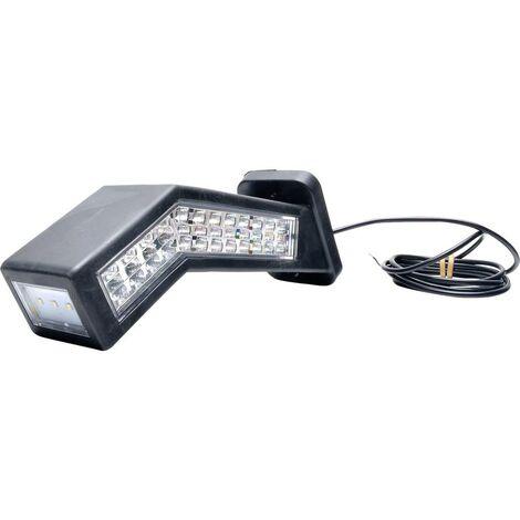 WAS W168.10.2 1445L Projecteur de travail 12 V/DC, 24 V/DC éclairage de proximité (l x H) 238 mm x 181 mm