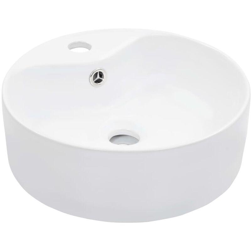 vidaXL Waschbecken Keramik Dreiecksform Schwarz Handwaschbecken Waschtisch