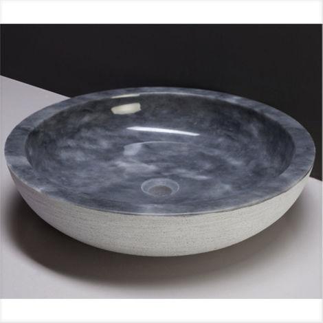 """Waschbecken Naturstein VERONA XL (50 cm) Marmor, 100066-""""11016145"""""""