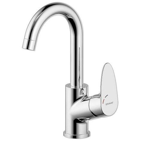 Waschtisch-Armatur BRAVAT PALMA mit hohem Auslauf - chrom - 3516002
