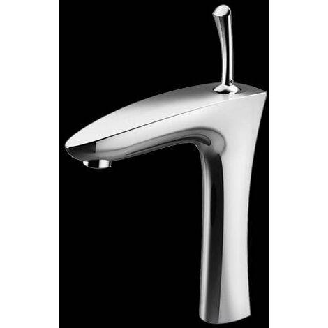 Waschtisch Armatur Hoch Waschbecken Einhebelmischer Chrom (Quill)