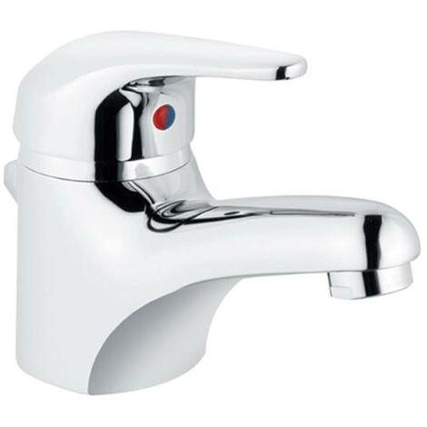 Waschtischarmatur XENA - Heinrich Schulte, hochdruck, chrom, inkl. Excentergarnitur