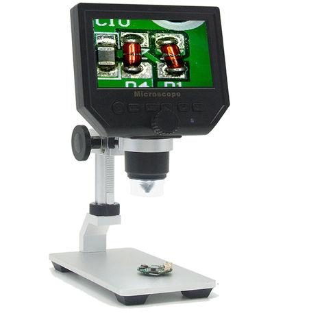 WASH 4.3 '' LCD 1-600X 3.6MP CCD MicroScope digital G600 1080P EU