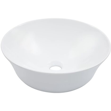 Wash Basin 41x12.5 cm Ceramic White