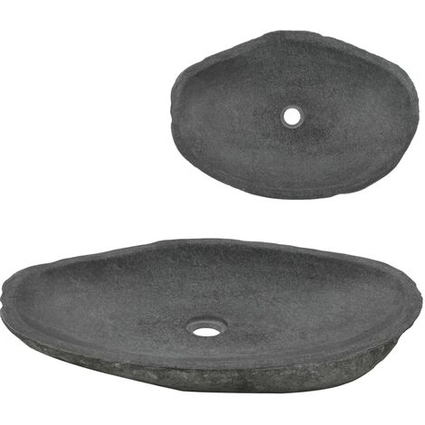 Wash Basin River Stone Oval 60-70 cm
