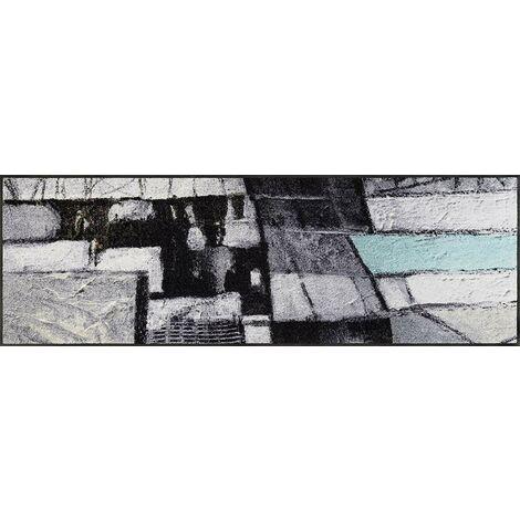 Wash+Dry Lebenswege Tapis, Surface en Polyamide, Gris, 80 x 150 cm