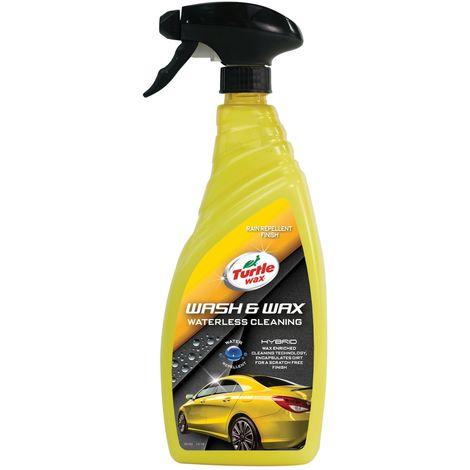 Wash & Wax Waterless Cleaning 750ml
