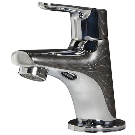 Washbasin cold water faucet Dex Modern Chrome Basin Tap Bathroom Sink Faucet Water tap