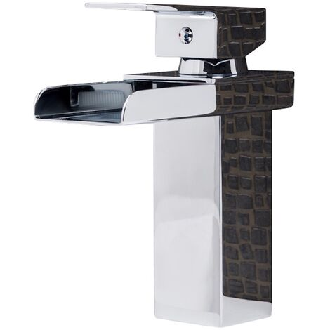 Washbasin faucet Belaza Modern Waterfall Chrome Basin Mixer Tap Bathroom Sink Faucet Water tap