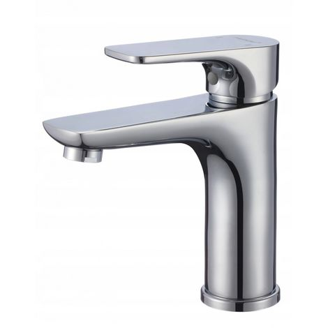 Washbasin standing bathroom mixer senja chrome