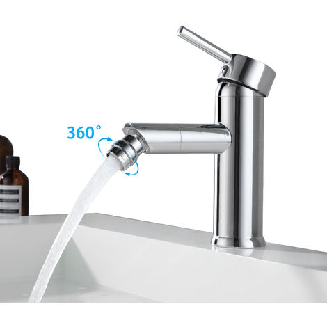 Washbasin tap for bidet Design bathroom tap Single-lever bath mixers Bathtub taps Chrome hot and cold water