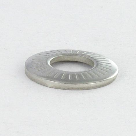 WASHER CONTACT STAINLESS STEEL A2 M10X22X1.6 M NFE 25511