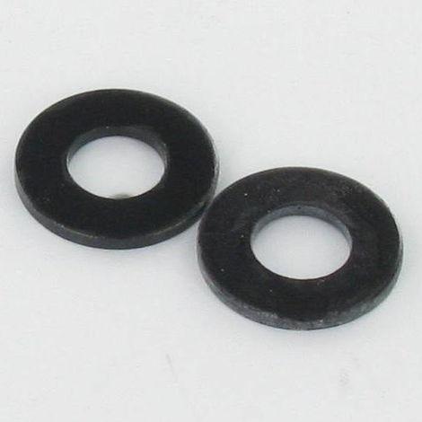 WASHER FLAT M10X22X2 M BLACK ZINC PLATED NFE 25513,VS-NFE25513 GRADE C