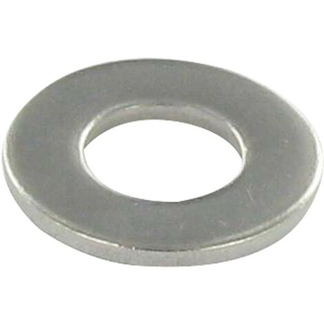WASHER FLAT M10X27X2 L STAINLESS STEEL A2 NFE 25513,VS-NFE25513 GRADE C