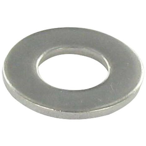 WASHER FLAT M10X36X2 LL STAINLESS STEEL A2 NFE 25513,VS-NFE25513 GRADE C