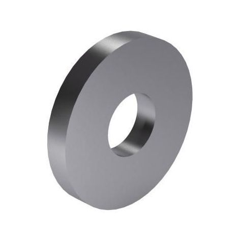 Washer for clamping device DIN 6340 Steel 350+80 HV30 Zinc plated