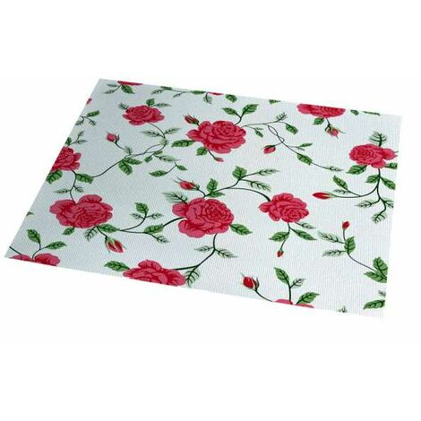 Washing machine pad Roses WENKO