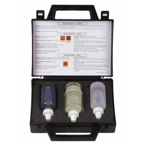 Wasserbehandlung und Analyse - Kontrollkoffer für die Wasserhärte