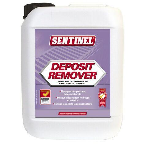 Wasserbehandlung und Analyse - Organisches Reinigungsmittel für Heizung (Kanister 5 Liter) - SENTINEL: DEP-4X5L-FR