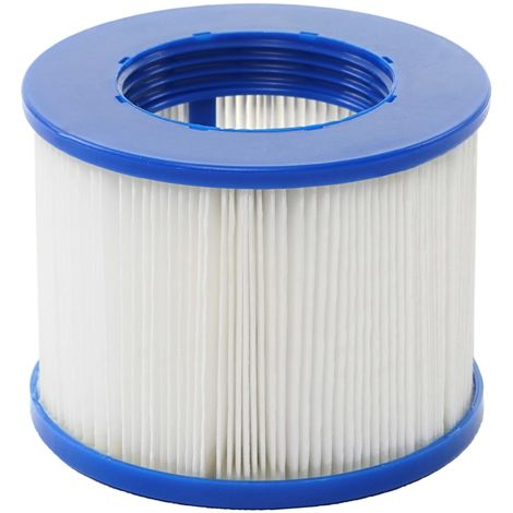 Wasserfilter für Whirlpool HHG-351, Ersatzfilter Filterkartusche Filterpatrone Lamellenfilter, Zubehör