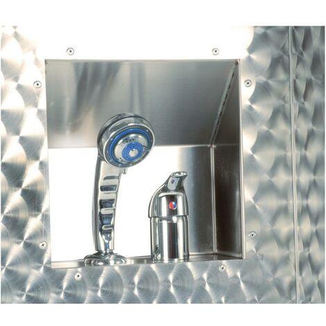 Wasserhähne mit Mischbatterie und Badewannendusche
