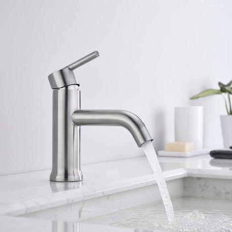 Wasserhahn Bad Armatur Einhebel Waschtischarmatur Einhandmischer ...