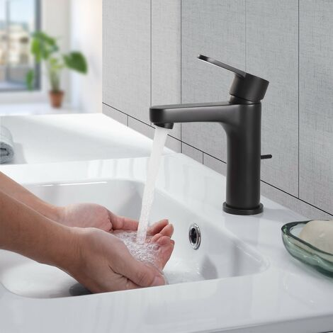 Wasserhahn Bad Automatischer Waschbecken-Mixer mit Infrarot-Toiletten Hahn-Elektronik