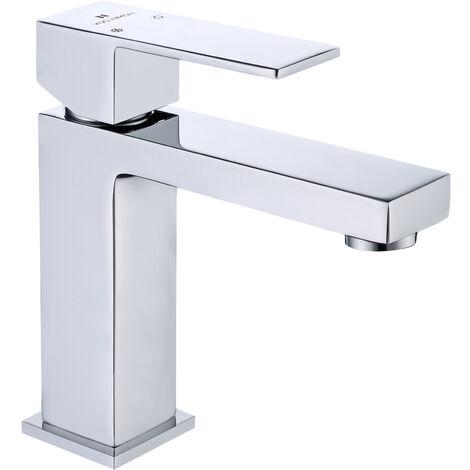 Wasserhahn Bad Chrom Waschbecken Armatur Badarmatur Waschtischarmatur Waschbeckenarmatur Einhebelmischer Mischbatterie