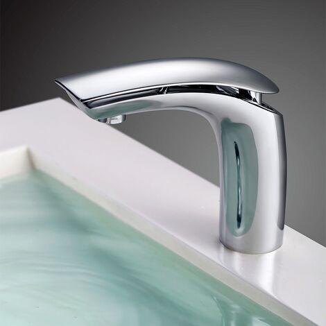 Wasserhahn Bad Waschtischarmatur Einhebelmischer Waschbecken Waschtisch Armatur Mischbatterie Waschbeckenarmatur für Bad Chrom
