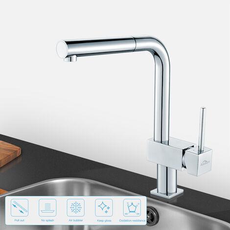 Wasserhahn Küche 90°Schwenkbereich Einhebel | Wasserhahn ...