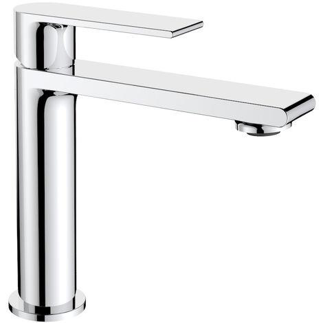Wasserhahn Lonato Chrom - Waschtisch Armatur Waschtischarmatur Waschbecken Waschbeckenarmatur Badezimmer Badarmatur