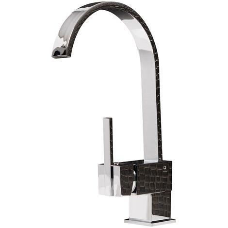 Waschbecken Armatur Badezimmer.Wasserhahn Omaha 360º Drehbar Chrom Waschtisch Armatur