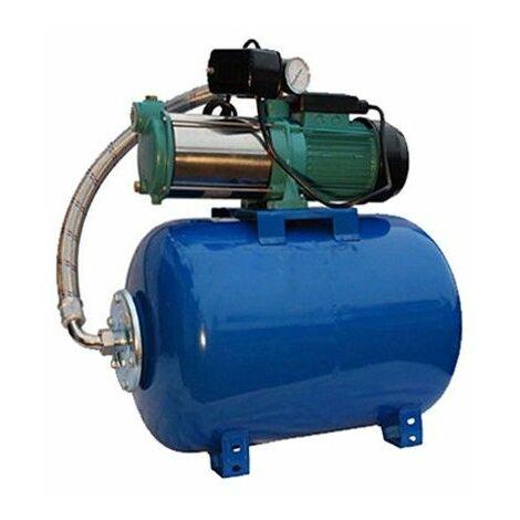 Wasserpumpe 1,1kW 95l/min 24-80 Speicher Jetpumpe Gartenpumpe Hauswasserwerk