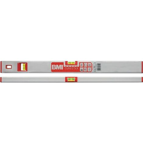 Wasserwaage EUROSTAR 690 E 100cm Alu.silber ± 0,5mm/m BMI