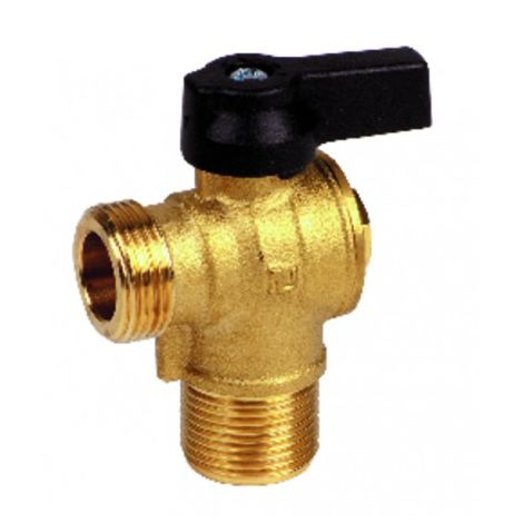 Water flow service tap - DIFF for Chaffoteaux : 61020388