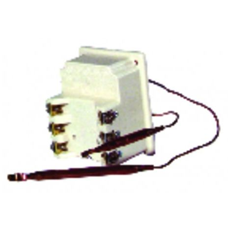 Water heater thermostat - bts 370 with 2 bulbs - COTHERM : KBTS900207