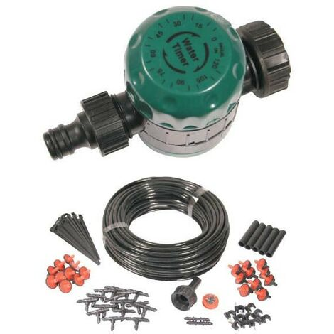 Water Manual Hose Timer Auto Watering Hozelock Compatible & Micro Irrigation Kit